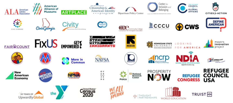 2020 Welcoming Week Partner Logos