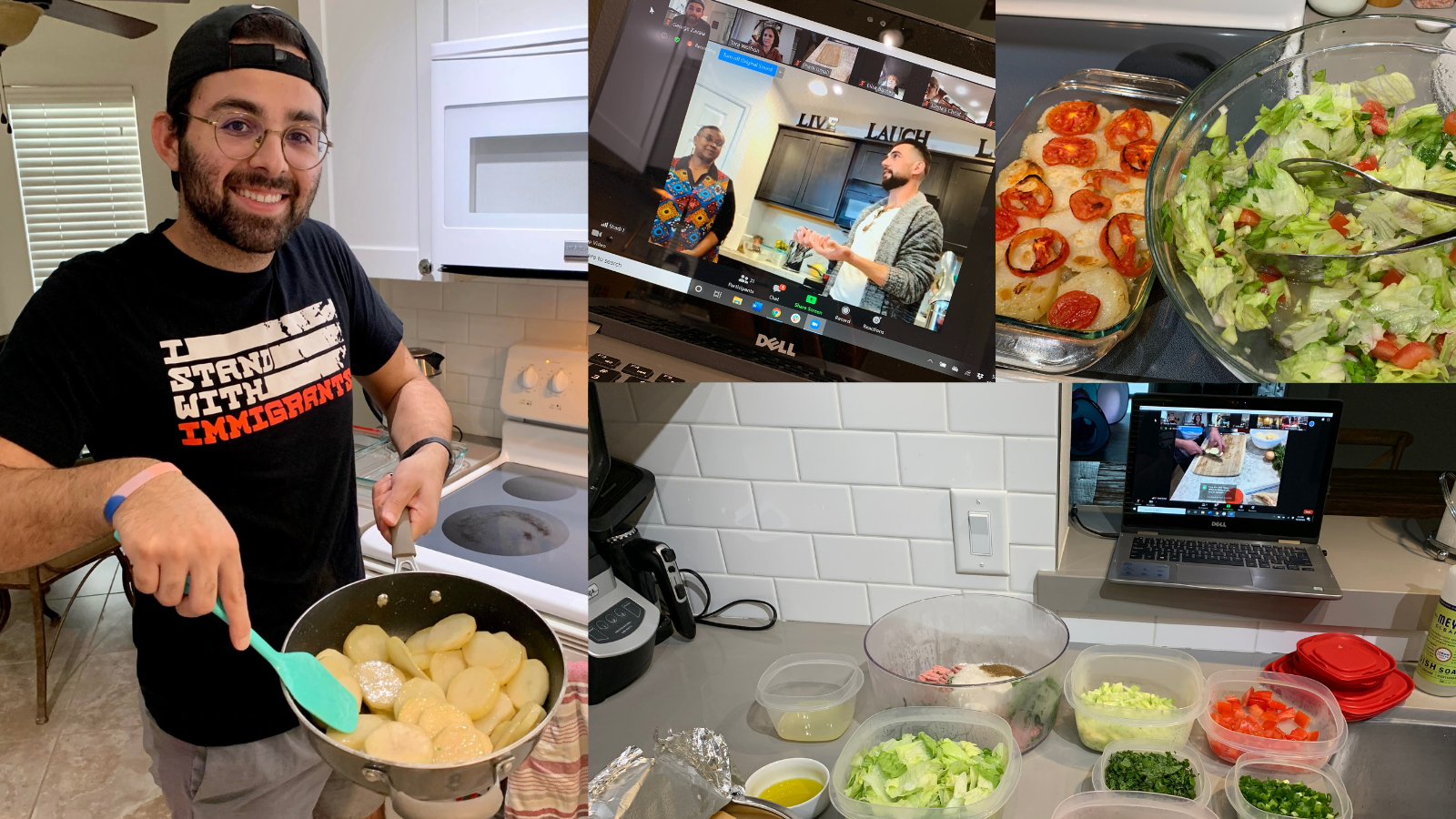 George-virtual-cooking-class-Boise