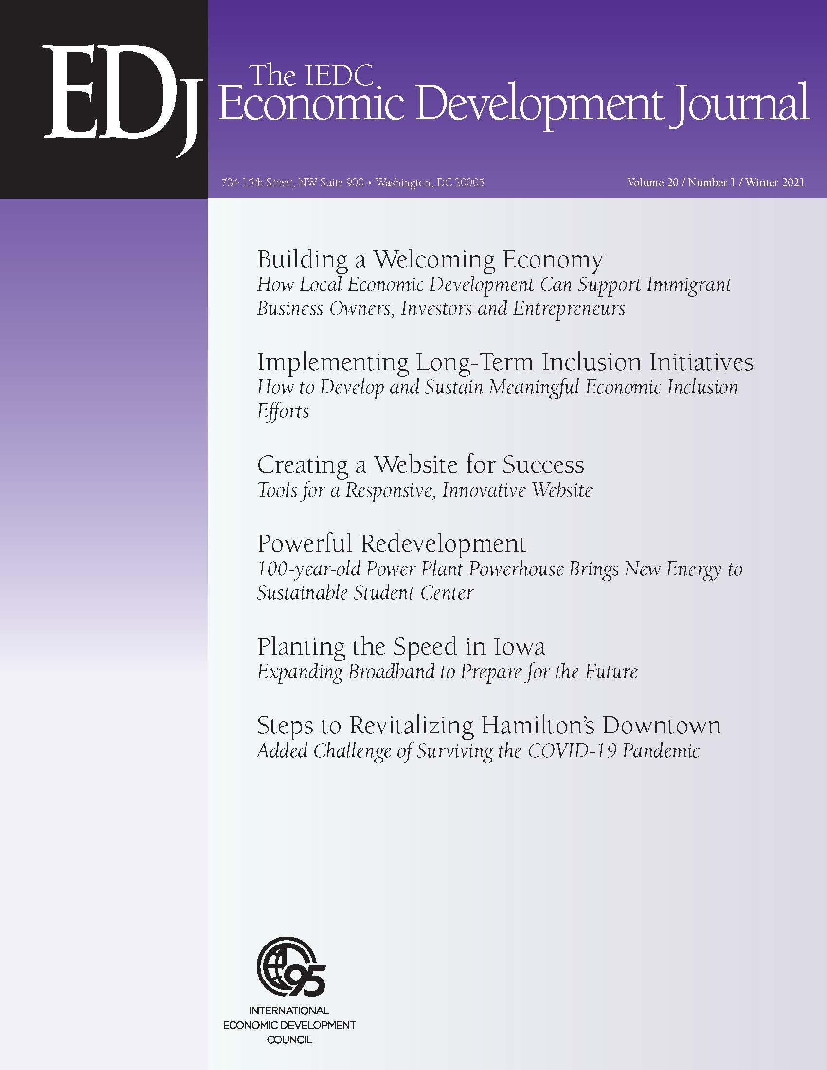 Economic Development Journal Winter2021