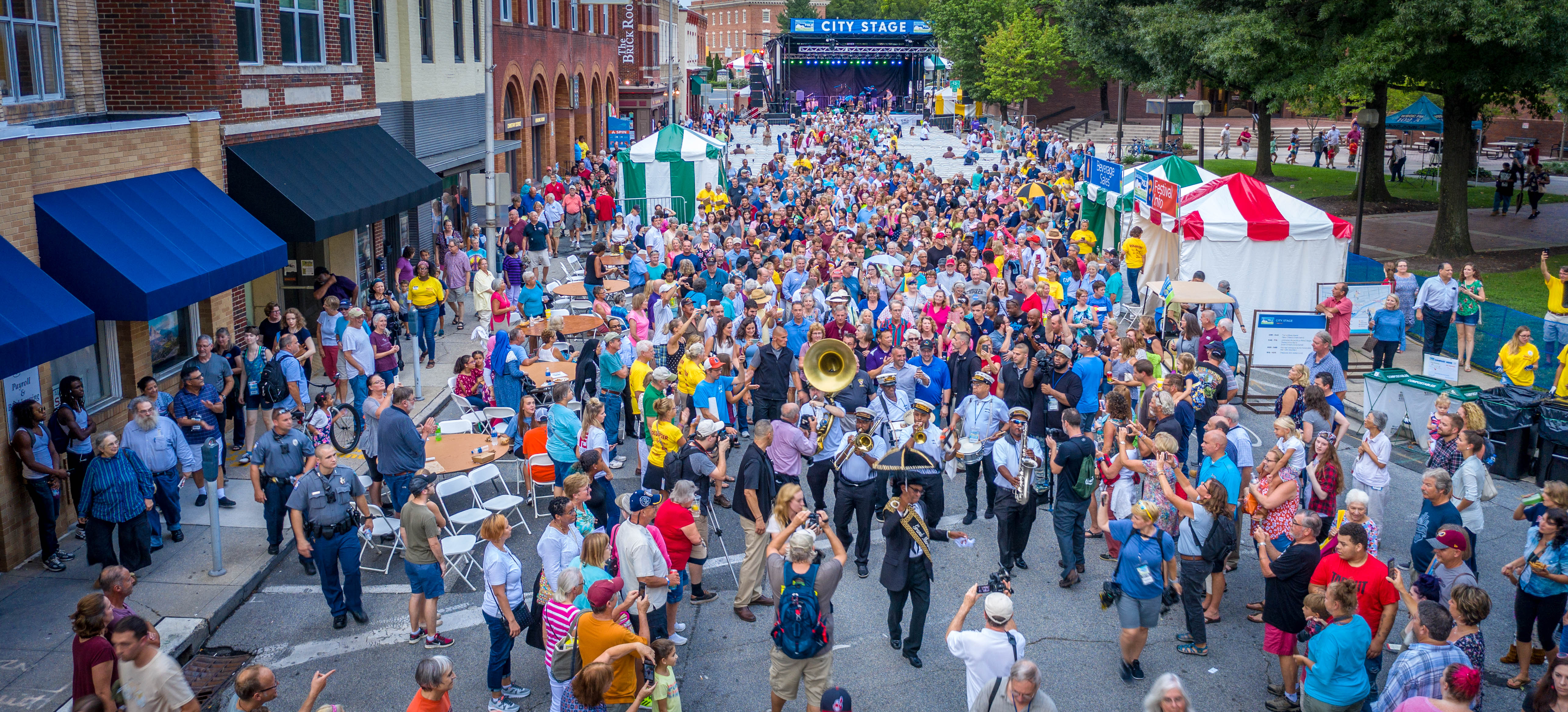 The 78th Annual National Folk Festival, Salisbury, MD, photo courtesy of the National Council for the Traditional Arts