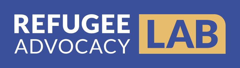 Refugee AL Logo Light Blue Bg Kailey Love