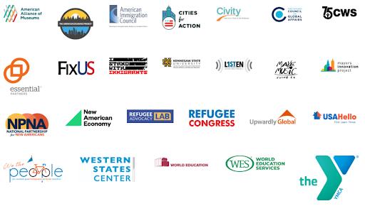 Logos of all Welcoming Week 2021 partners